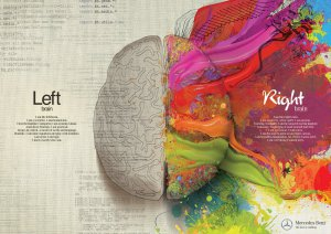 Left Brain-Right Brain (art)
